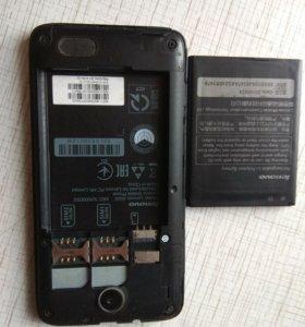 2 телефона леново А526