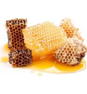 Мёд в сотах натуральный
