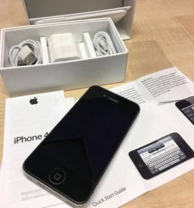 iPhone 4s, чёрный, 16 гб