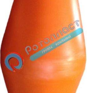 1 Буй пластиковый оранжевый