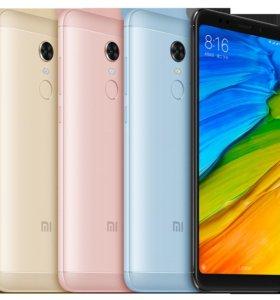 Безрамочный смартфон Xiaomi Redmi 5 2/16GB (новый)