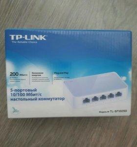 Коммутатор TP-link новый