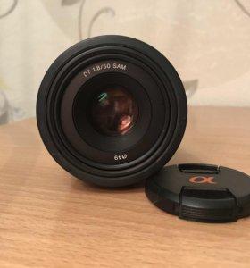 Объектив Sony 50mm f 1.8