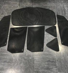 Каркасные шторки Laitovo на Мазду 3 / Mazda 3