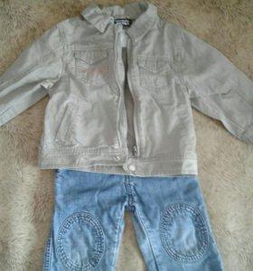 Курточка джинсовая на мальчика