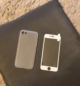 Чехол+защитное стекло iPhone 7
