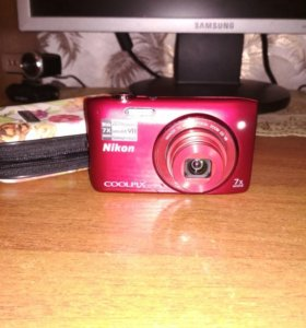 Фотоаппарат Nikon s3500