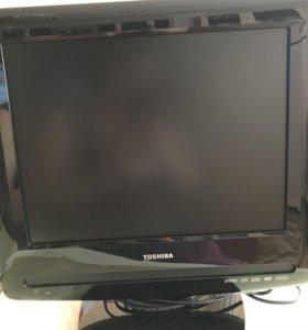 Телевизор с DVD проигрывателем