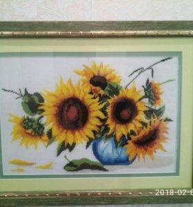Картина Подсолнухи