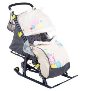 Санки-коляска Ника детям -7-2