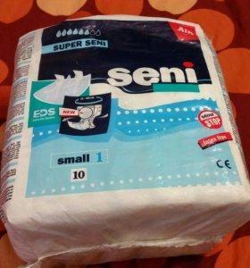 Подгузники seni small 1 55-80 см