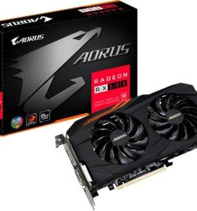Видеокарта AMD Radeon RX 580 aorus 8GB