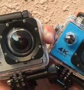 Action camera 4K Ultra HD.