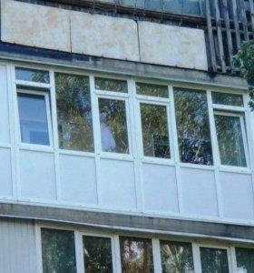 Пластиковые окна и двери. Жалюзи.