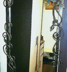 Кованая рамка под зеркало