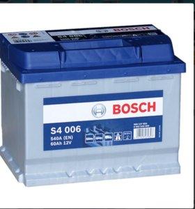 Аккумулятор BOSCH абсолютно новый