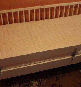Детская кровать Гулливер+ матрац Vyssa Chosa