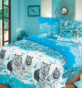 комплекты постельного белья  бязь1.5сп