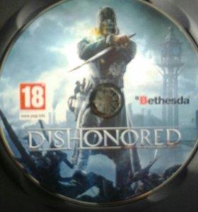Dishonored игра диск на ПК