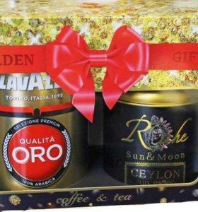 Подарочный набор чая и кофеRiche Natur Golden Gift
