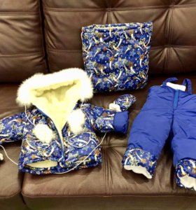 Комбинезон Зимний комплект размер 80
