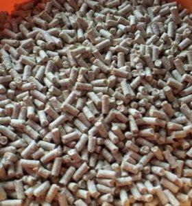 Корм в гранулах для птицы и кролей