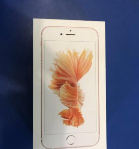 iPhone 6s,Rose Gold, 16gb