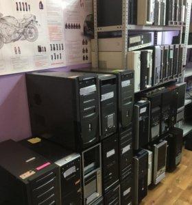 Продам много б/у компьютеров и мониторов