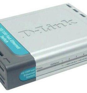 Коммутатор 10/100 мбит/с D-link DES-1005d