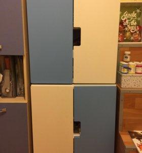 Шкафчики детские 2 шт по 1500