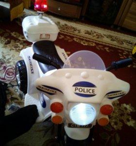 Детский электромотоцикол
