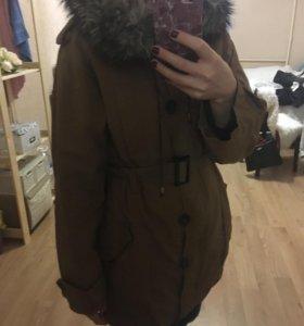 Парка куртка женская на весну