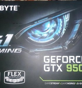 Видеокарта GEFORCE GTX 950