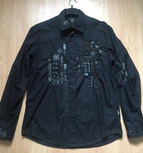 Шикарная мужская рубашка Just Cavalli оригинал р50