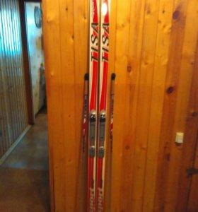 Лыжи с креплением