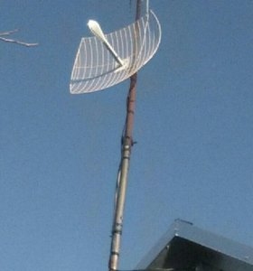 Установка сотовых интернет антен