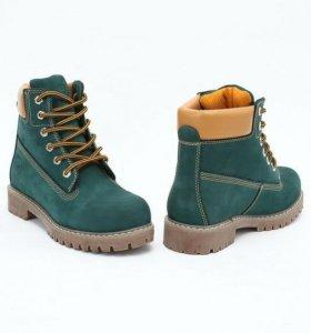Ботинки женские тимберленды