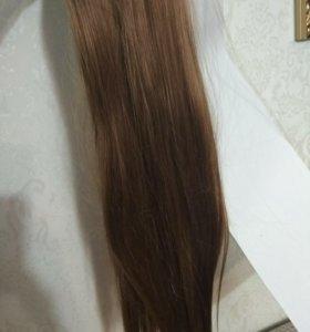 Исскуственные волосы .хвостик