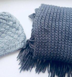 Шапки, шарф, перчатки