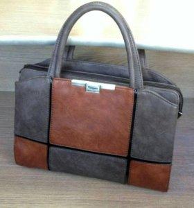 Элегантная новая сумка из экокожи