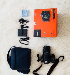 Зеркальный фотоаппарат Sony SLT-A58 kit 18-55