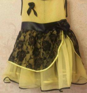 Платье на девочку 5-7лет (новое)