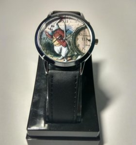 White rabbit - наручные часы с кожаным ремешком.