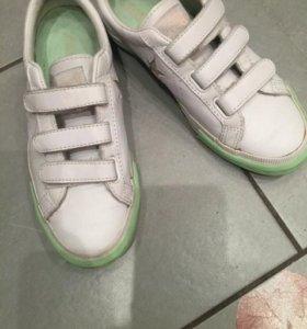 Кожаные кроссовки Converse 36-37р