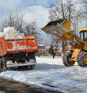 Снег, Уборка территории