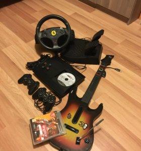PlayStation 3 руль плюс гитара 🔱