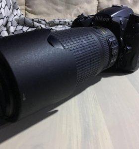 Nikon D7000 kit + 70-300.