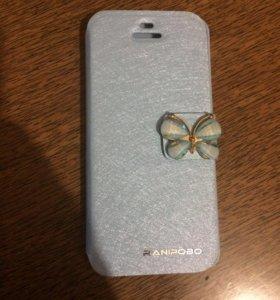 Чехол-книжка iPhone 5s новая
