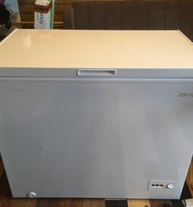Морозильный ларь zifro 250 литров