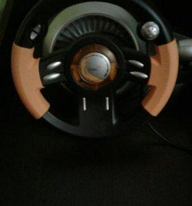 Игравой руль с педалями